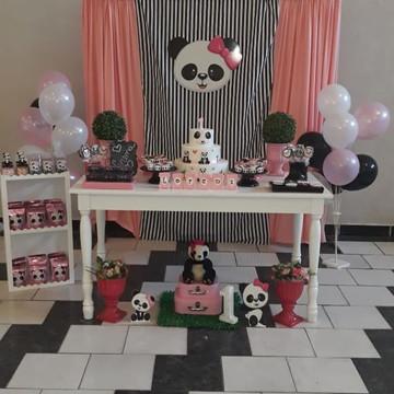 Decoração Panda menina