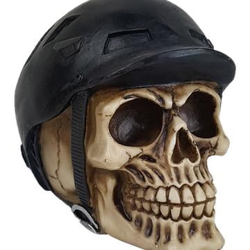 Crânio Ciclista feito em Resina