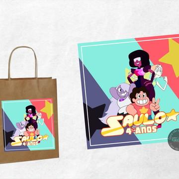 Adesivo Sacola Steven Universo