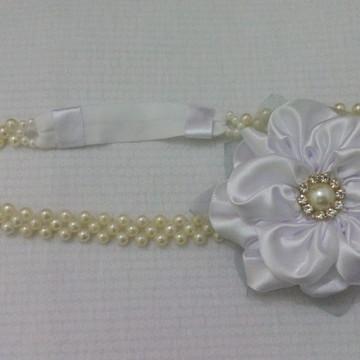 Tiara headband noiva, enfeite de cabelo de noiva