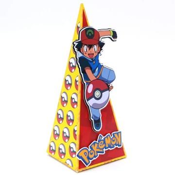 Caixa Cone 2 apliques 3D Pokemon
