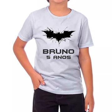 Camisa Batman Morcedo DC Personalizada