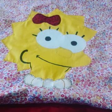 Capa de Almofada Lisa Simpson