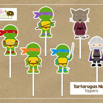 Topper Tartarugas Ninja
