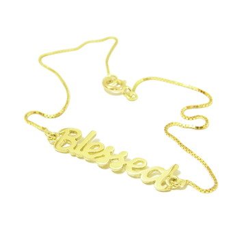 Pulseira Blessed | Ouro 18k