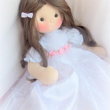 Boneca daminha /cabelo sintético