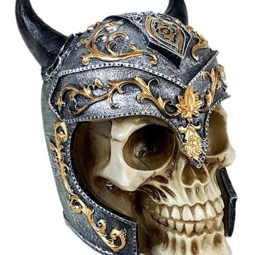Crânio GR Medieval C Chifre