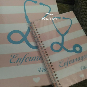 Kit cadernos personalizados