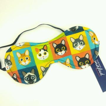 Máscara de dormir Gatos qd