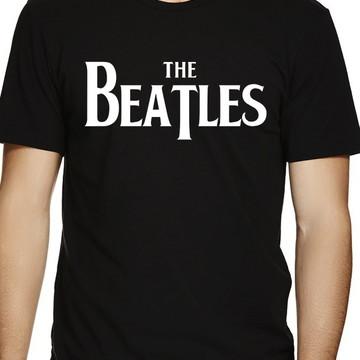 78e173667 Camiseta Beatle.s Preta Bandas de Rock