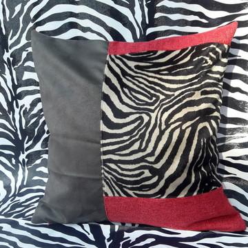 Capas para almofada em patchwork