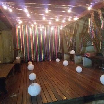 Varal de Luzes - Festão 25 metros - Com lâmpadas led