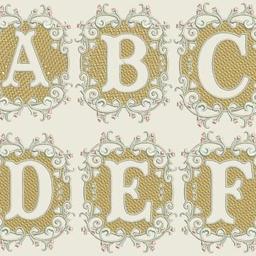 Matriz-Pacote Alfabeto Delicado