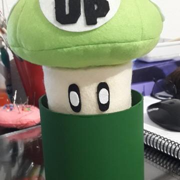 Centro de mesa Cogumelo Super Mario