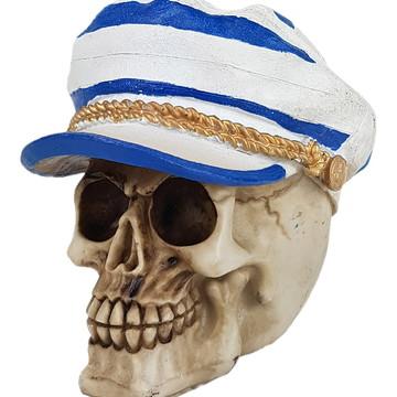 Crânio Marinheiro feito em Resina