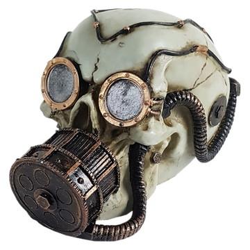 Crânio Mergulhador feito em Resina