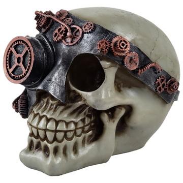 Crânio Monoculo feito em Resina