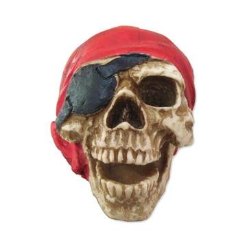 Crânio Pirata feito em Resina