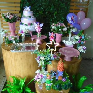 aluguel de decoração chá de bebe jardim das fadas