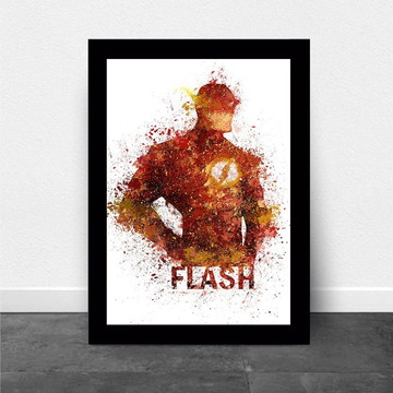 Quadro Infantil Super Herois Flash
