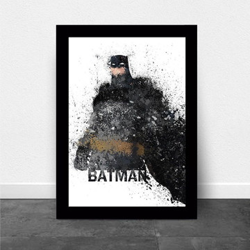 Quadro Infantil Super Herois Batman