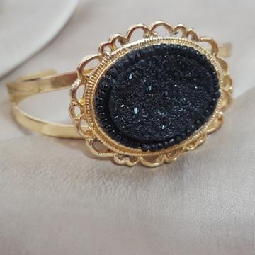 Bracelete Dourado Camafeu
