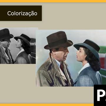 Colorização de foto