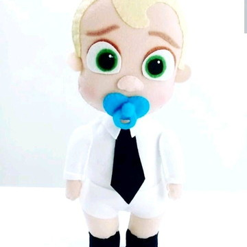 Chefinho Bebê - Coleção Poderoso Chefinho em feltro