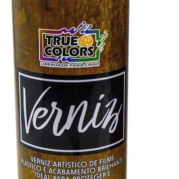 Verniz Aerossol Spray Brilhante 300 Ml - True Colors