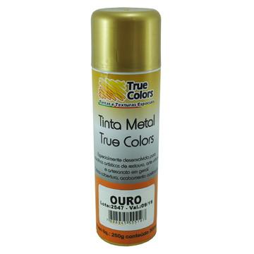 Verniz Spray Ouro Arte Urbana 300 Ml - True Colors