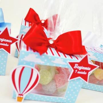Caixa vazada Festa Balão