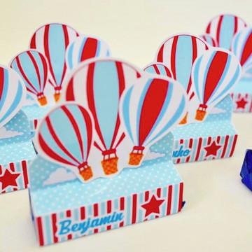 Caixa Chocolate Festa Balão