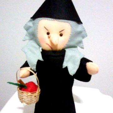 Bruxa Malvada - Coleção Branca de Neve em feltro