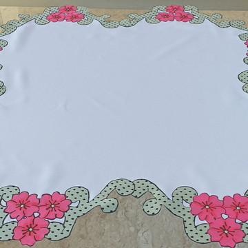 caminho de mesa flores 4