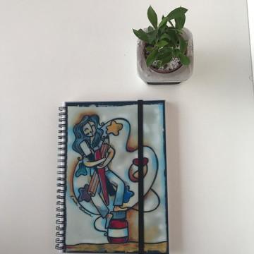 Sketchbook A5 Reprodução - Pintora