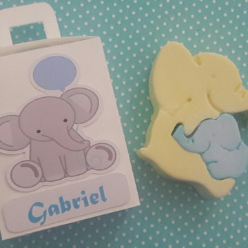 lembrancinha elefantinho - maternidade