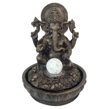 Fonte Ganesha feito em Resina