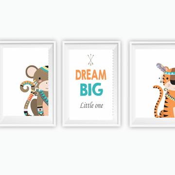 Quadrinhos Infantis DREAM BIG