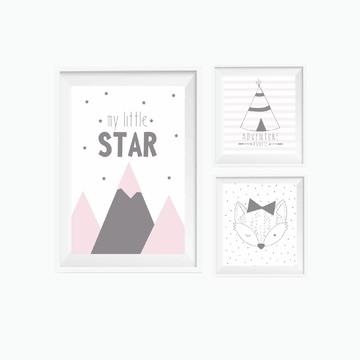 Quadrinhos Infantis Menina STAR