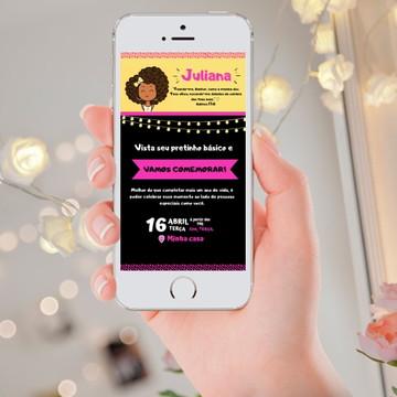 Convite Digital Feminino