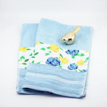 Toalha de Rosto com barrinha em tecido