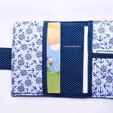 Capa para caderneta de vacina em tecido