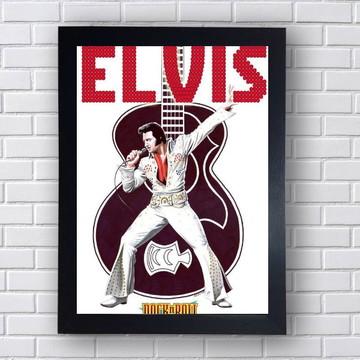 Quadro Elvis Presley Rockeiro