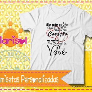 47700dff6 Camiseta Personalizada Vovó