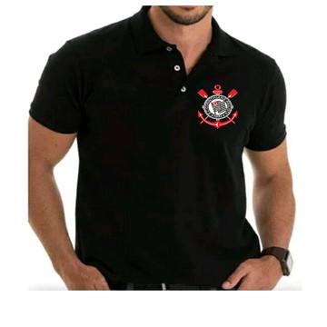 572ce70b03 Camisa Polo Piquet Timão