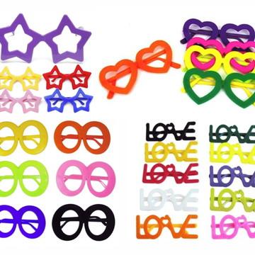 986e382e71c57 Kit 10 Óculos Divertido Sortidos Para Festa