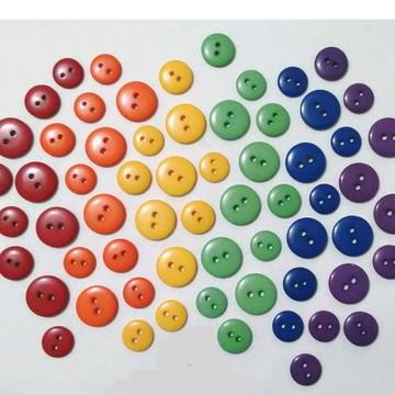 Botoes Coloridos para Roupas e Artesanato P