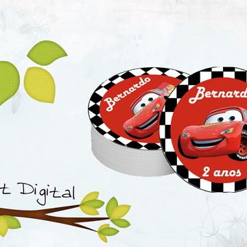 Adesivos Redondos - Carros