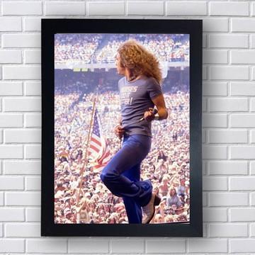 Quadro Decorativo Robert Plant