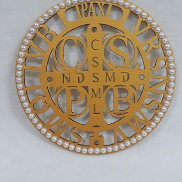 Quadro da Medalha de São Bento em MDF
